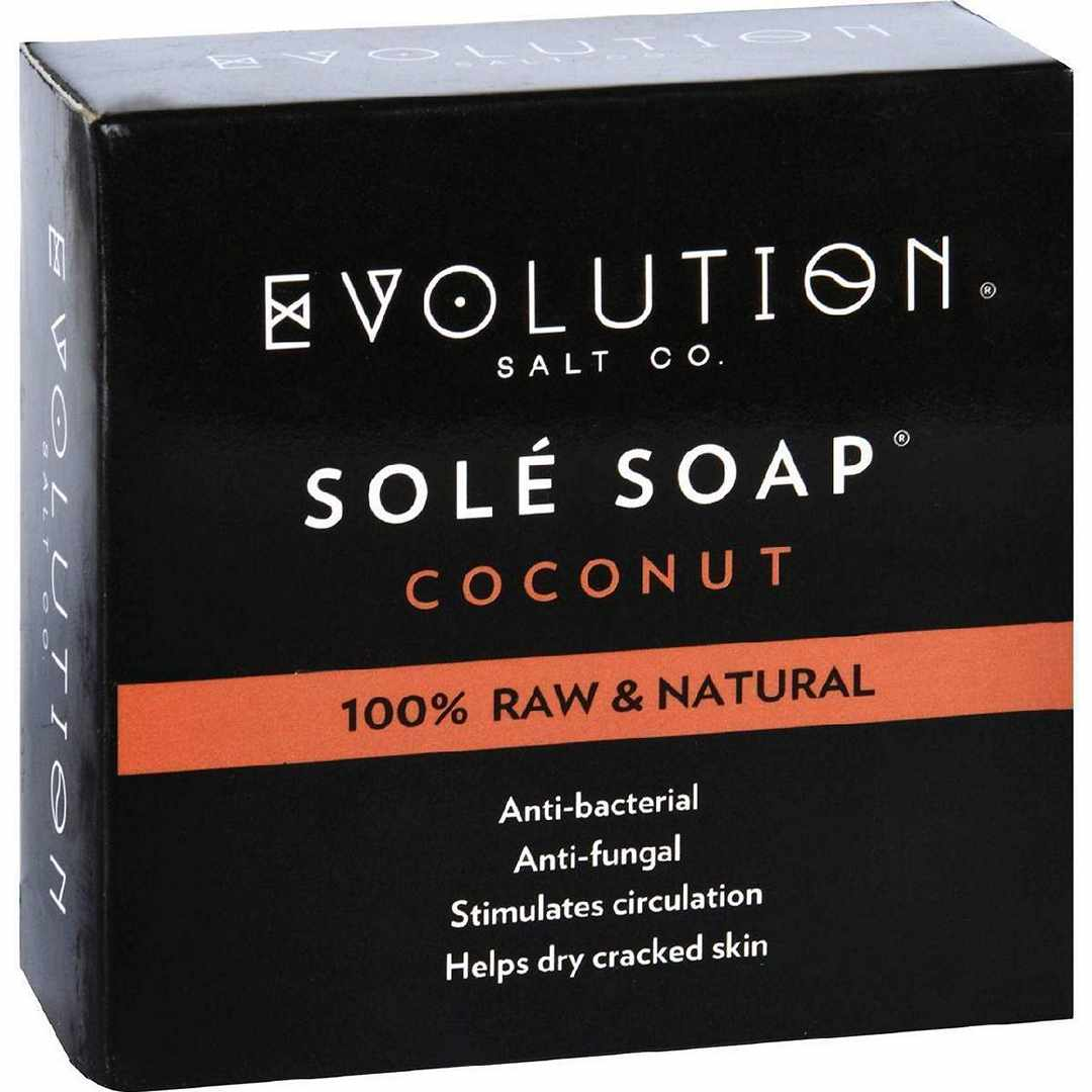 Evolution Salt Bath Soap - Sole - Coconut - 4.5 Oz