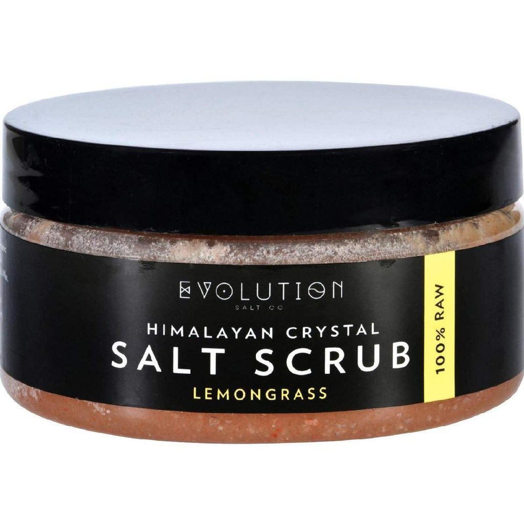 Evolution Salt Scrub - Himalayan - Lemongrass - 12 Oz