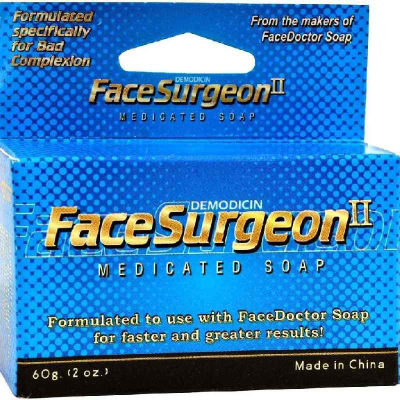 Face Doctor Surgeon Ii Medicated Soap - 2 Oz