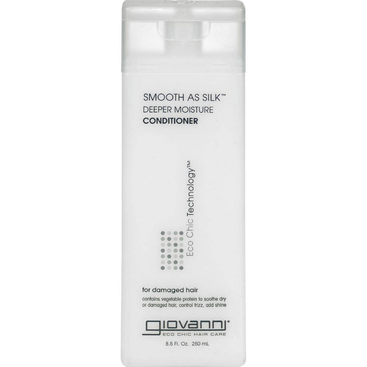 Giovanni Smooth As Silk Deeper Moisture Conditioner - 8.5 Fl Oz