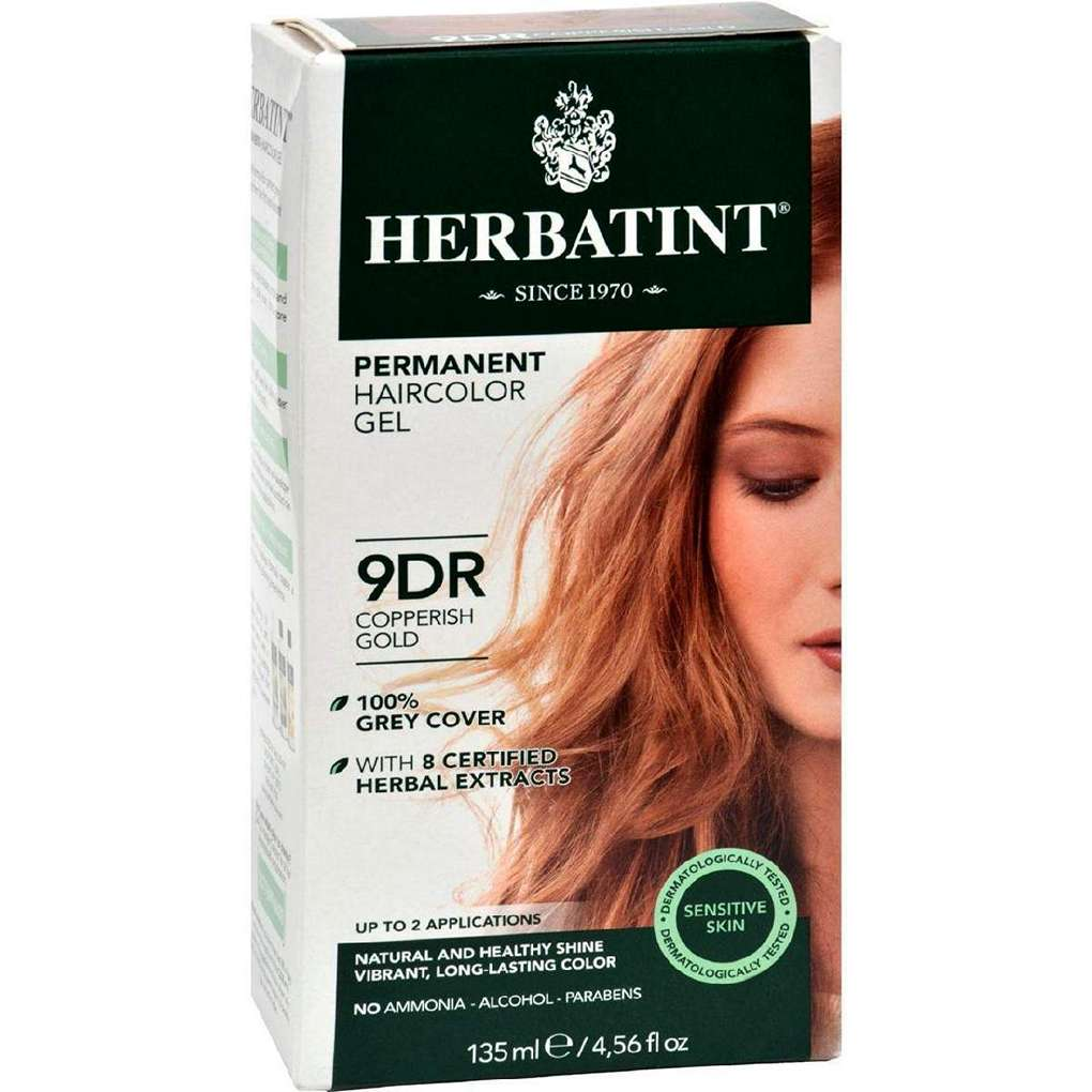 Herbatint Haircolor Kit Copperish Gold 9D - 1