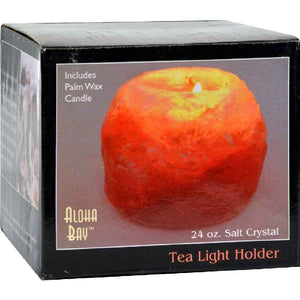 Himalayan Salt Tea Light Holder - Lamp - 1 Candle