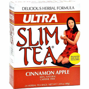 Hobe Labs Ultra Slim Tea Cinnamon Apple - 24 Bags