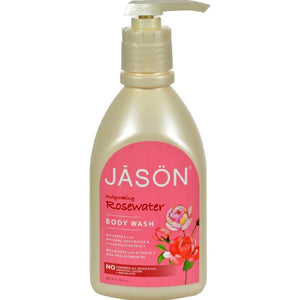 Jason Body Wash Pure Natural Invigorating Rosewater - 30 Fl Oz