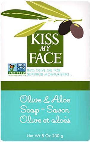 Kiss My Face Bar Soap Olive And Aloe - 8 Oz