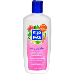 Kiss My Face Miss Treated Conditioner Palmarosa Mint - 11 Fl Oz