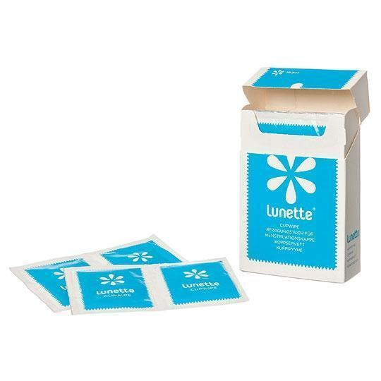 Lunette Menstrual Cup Wipes - 1 Count