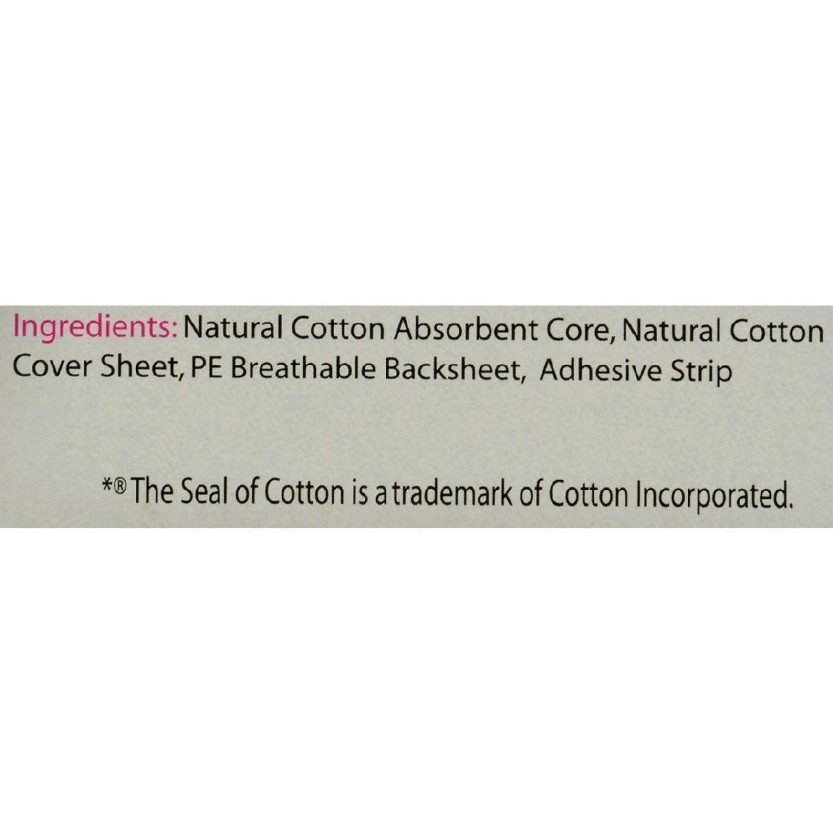 Maxim Hygiene Natural Cotton Classic Contour Sanitary Pads Regular - 16 Disposable Napkins