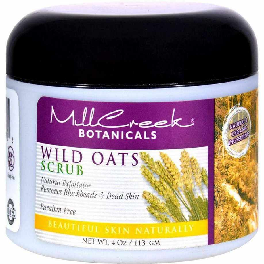 Mill Creek Botanicals Wild Oats Scrub - 4 Oz