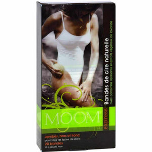 Moom Express Pre Wax Strips For Legs And Body - 20