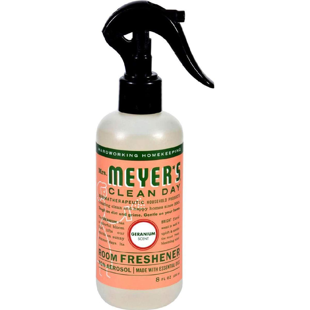 Mrs. Meyers Room Freshener - Geranium - 8 Oz