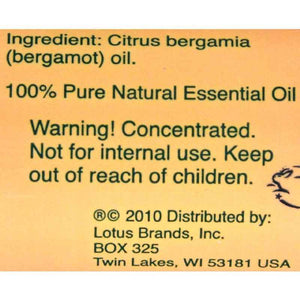 Natures Alchemy 100% Pure Essential Oil Bergamot - 0.5 Fl Oz