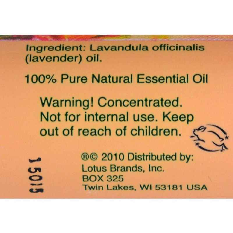 Natures Alchemy 100% Pure Essential Oil Lavender - 0.5 Fl Oz
