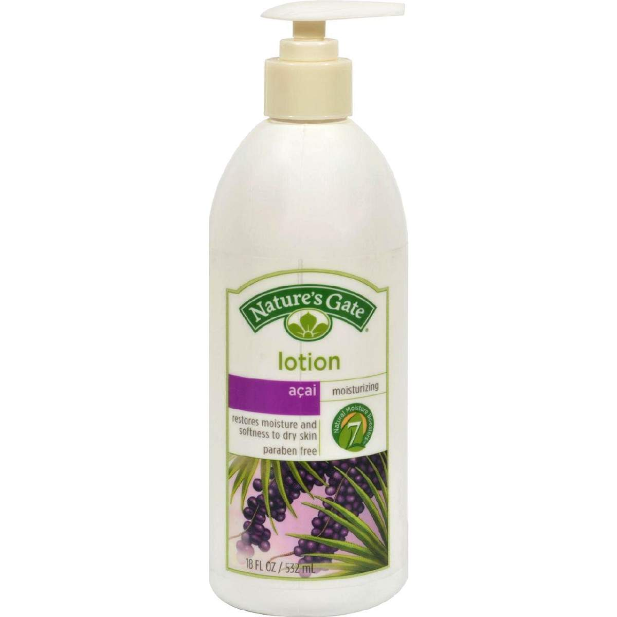 Natures Gate Acai Moisturizing Lotion - 18 Fl Oz