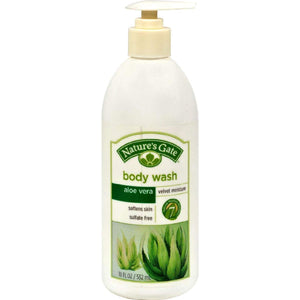 Natures Gate Aloe Vera Velvet Moisture Body Wash - 18 Fl Oz