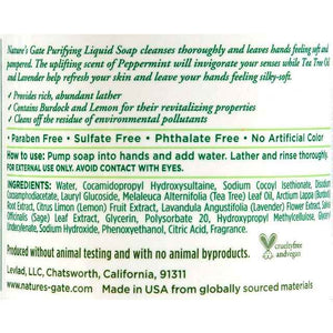 Natures Gate Liquid Soap Purifying - 12.5 Fl Oz