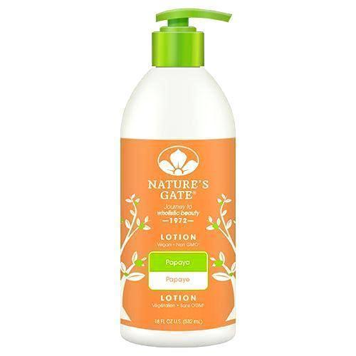 Natures Gate Moisturizing Lotion Papaya - 18 Fl Oz