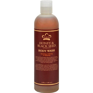 Nubian Heritage Body Wash Honey And Black Seed - 13 Fl Oz