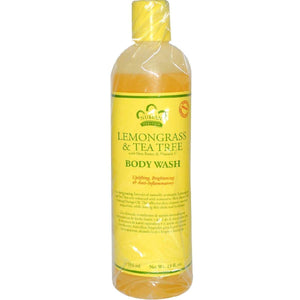 Nubian Heritage Body Wash Lemongrass And Tea Tree - 13 Fl Oz