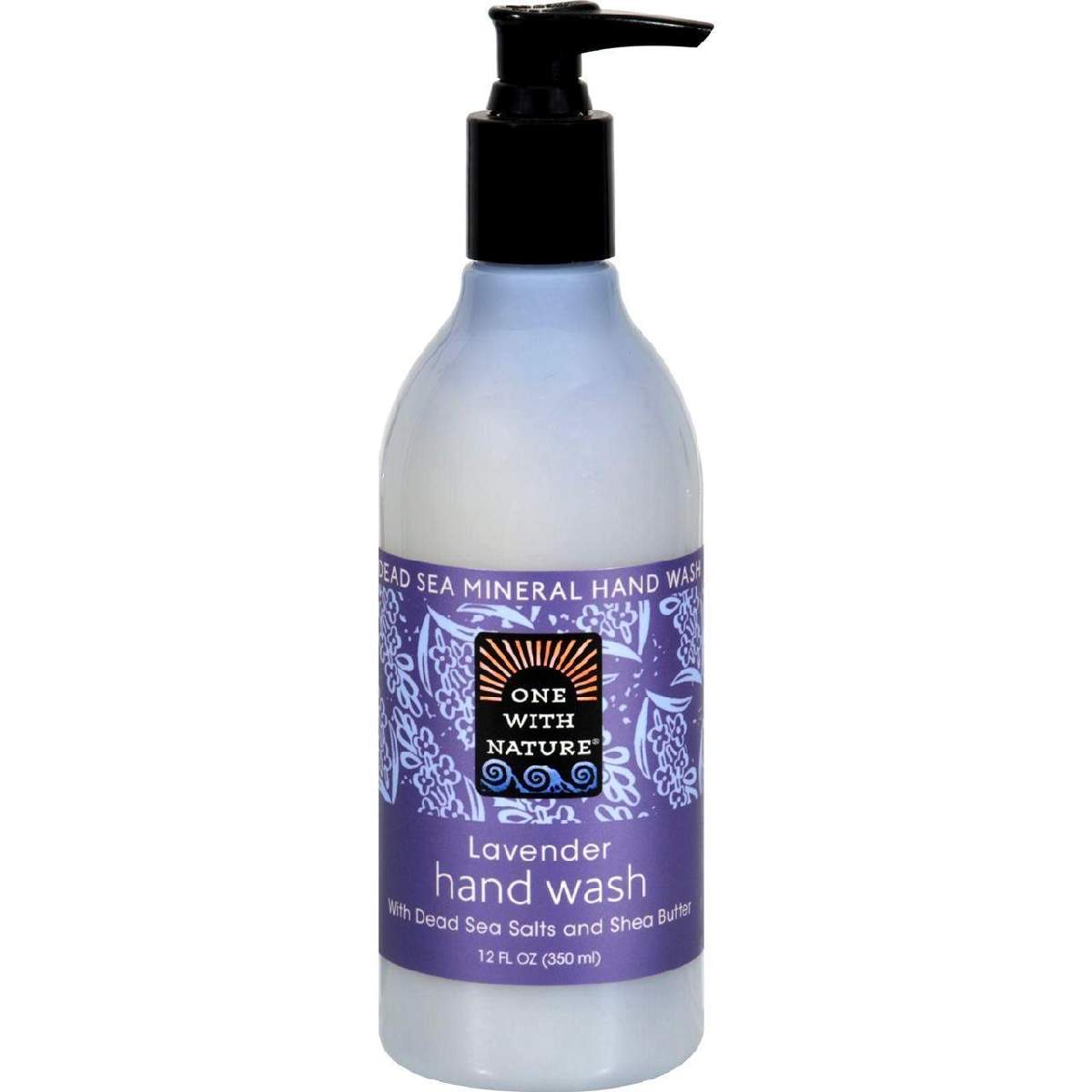 One With Nature Dead Sea Mineral Restorative Hand Wash Lavender - 12 Fl Oz