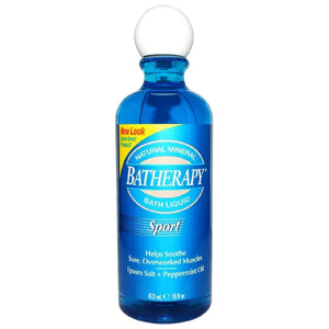 Queen Helene Batherapy Sport Natural Liquid Mineral Bath - 16 Fl Oz