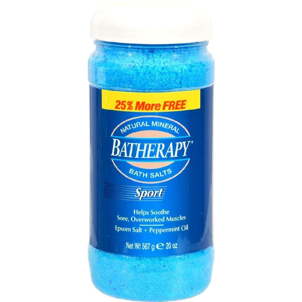 Queen Helene Batherapy Sport Natural Mineral Bath - 16 Oz