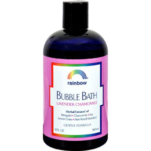 Rainbow Research Gentle Bubble Bath Formula - Lavender And Chamomile - 12 Oz