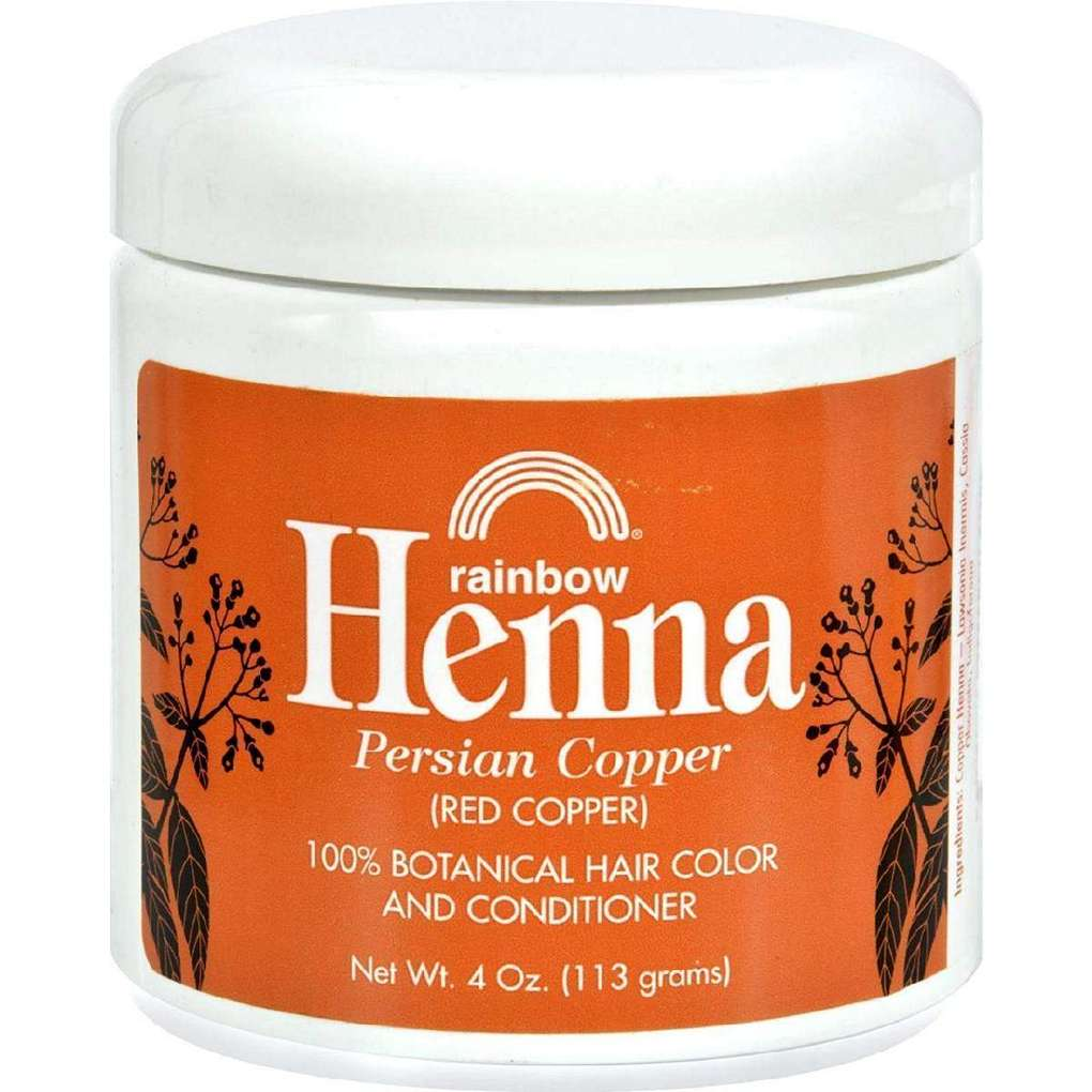 Rainbow Research Henna Hair Color And Conditioner Persian Copper Red - 4 Oz