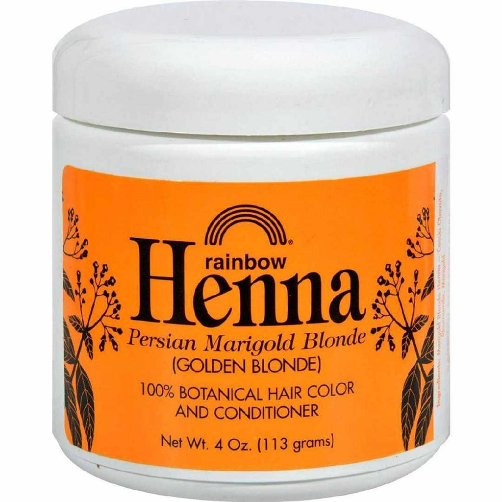 Rainbow Research Henna Hair Color And Conditioner Persian Marigold Blonde Golden - 4 Oz