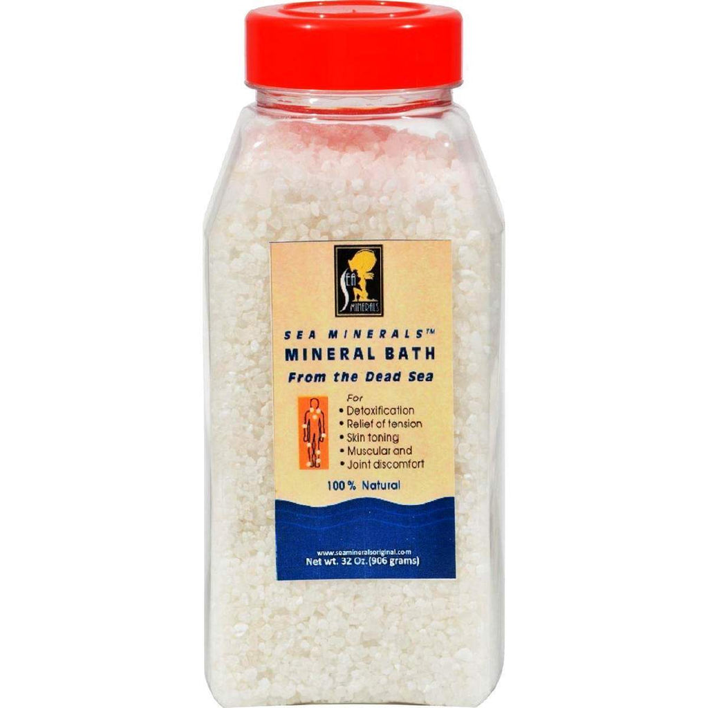 Sea Minerals Bath Salts From The Dead - 2 Lbs