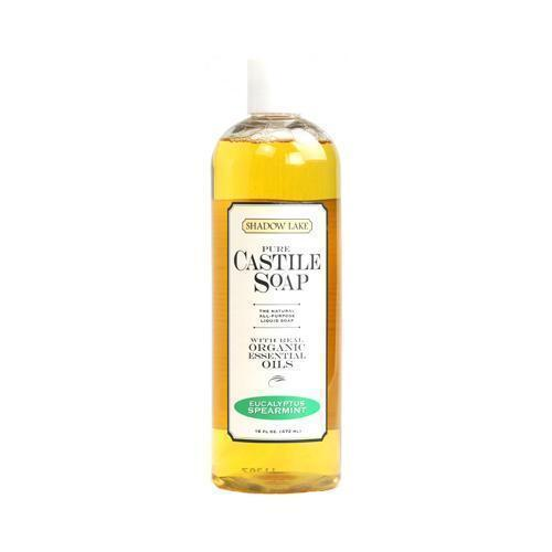 Shadow Lake Soap - Castile - Liquid - Eucalyptus Spearmint - 16 Oz - Case Of 6