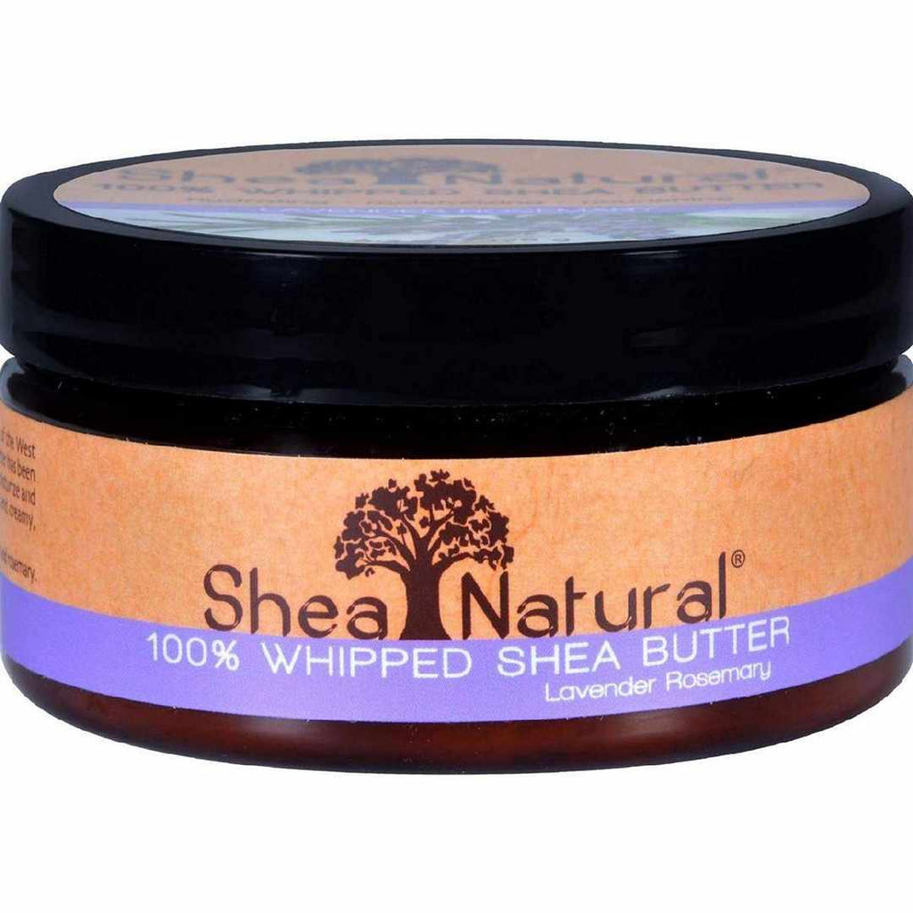 Shea Natural Whipped Butter Lavender Rosemary - 6.3 Oz