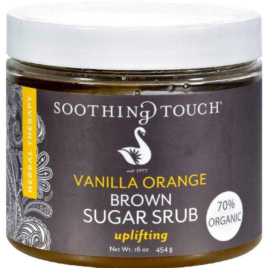 Soothing Touch Brown Sugar Scrub - Vanilla Orange - 16 Oz