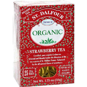 St Dalfour Organic Tea Strawberry - 25 Bags