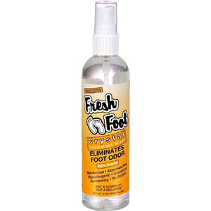 Thai Deodorant Stone Fresh Foot Crystal Mist - 6 Fl Oz