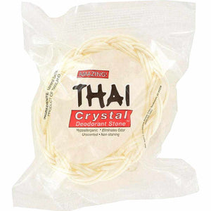 Thai Deodorant Stone Crystal Soap In Basket - 1 Bar