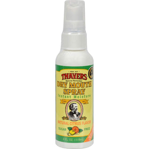 Thayers Dry Mouth Spray - Citrus - 1 Each - 4 Oz.