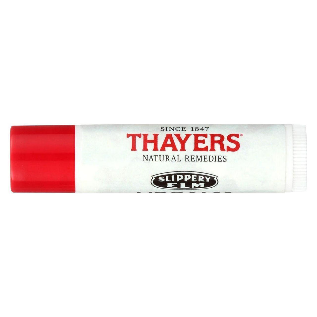 Thayers Slippery Elm Lip Balm - Peppermint - Case Of 24 - 0.15 Oz.