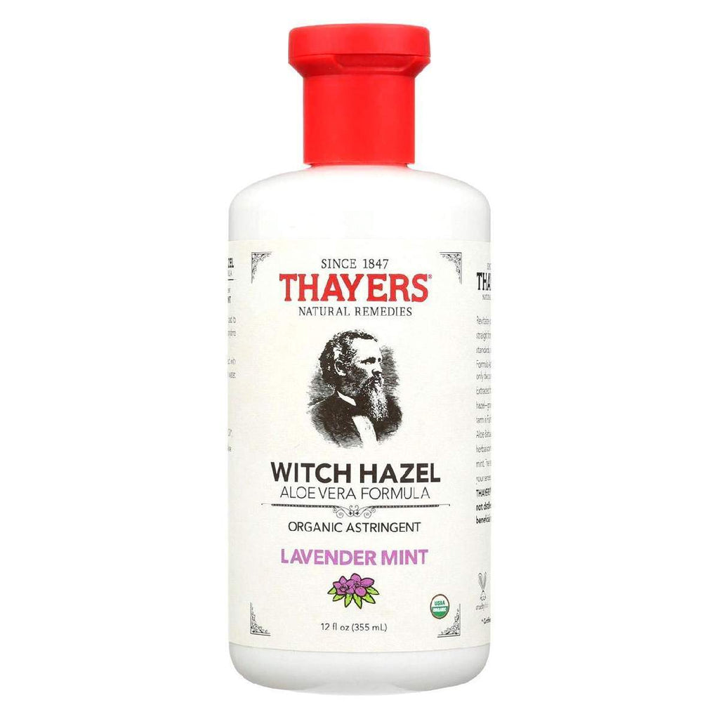 Thayers Witch Hazel Astringent - Lavender Mint - 12 Fl Oz