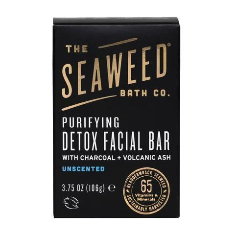 The Seaweed Bath Co Soap - Bar - Detox - Facial - 3.75 Oz