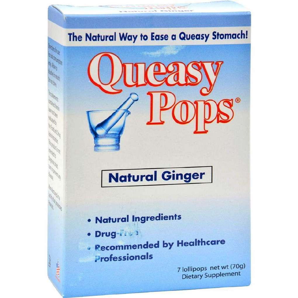 Three Lollies Queasy Pops Ginger - 7