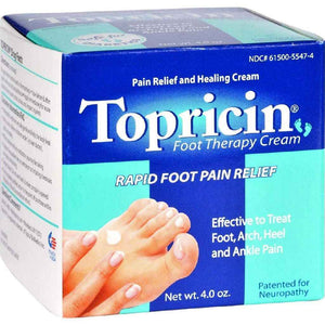 Topricin Foot Cream - 4 Oz