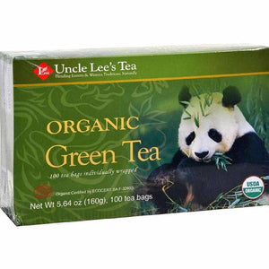 Uncle Lees Legends Of China Organic Green Tea - 100 Bags