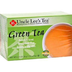 Uncle Lees Tea Green - 20 Bags