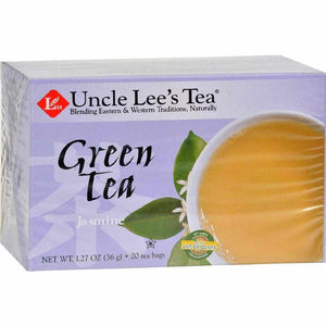Uncle Lees Tea Green - Jasmine - 20 Bags