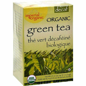 Uncle Lees Tea Organic Imperial Decaffeinated Green - 18 Bags