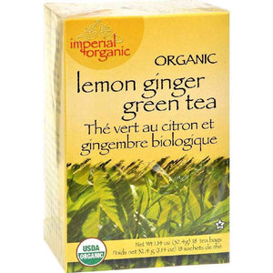 Uncle Lees Tea Organic Imperial Lemon Ginger - 18 Bags