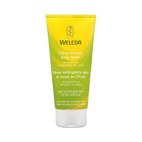Weleda Creamy Body Wash Citrus - 7.2 Fl Oz