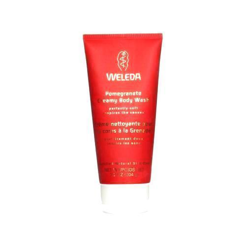 Weleda Creamy Body Wash Pomegranate - 7.2 Fl Oz