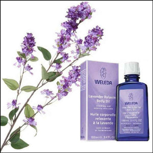 Weleda Relaxing Body Oil Lavender - 3.4 Fl Oz
